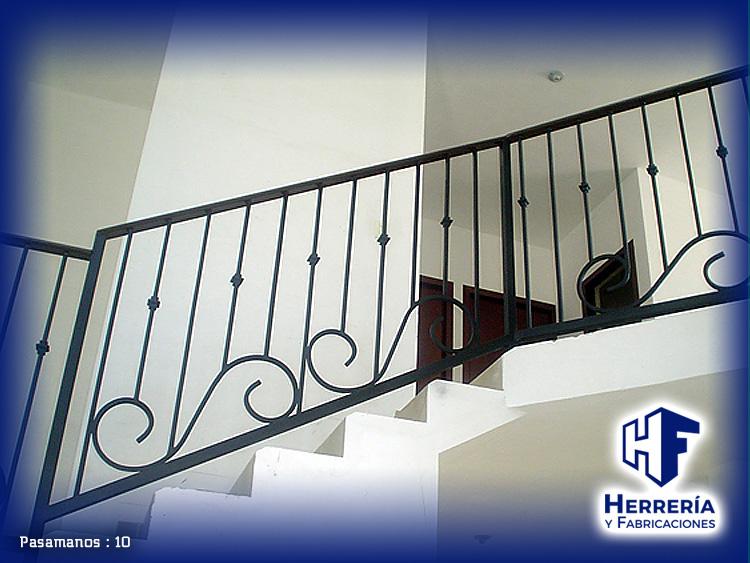 Herrer a y fabricaciones - Escaleras de forja interiores ...
