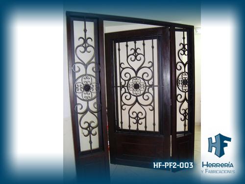 Hf galer a puertas de forja for Puertas principales de forja